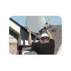 Установка антенн, подключение телефона, интернета